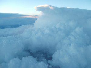 Storm at 8000 Altitude
