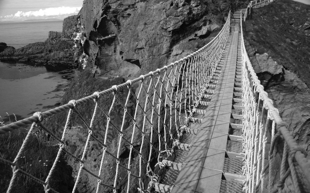 Walking a Rope Bridge